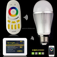 9W WiFi Smart 6W Mi Light Wireless ios app led light bulb