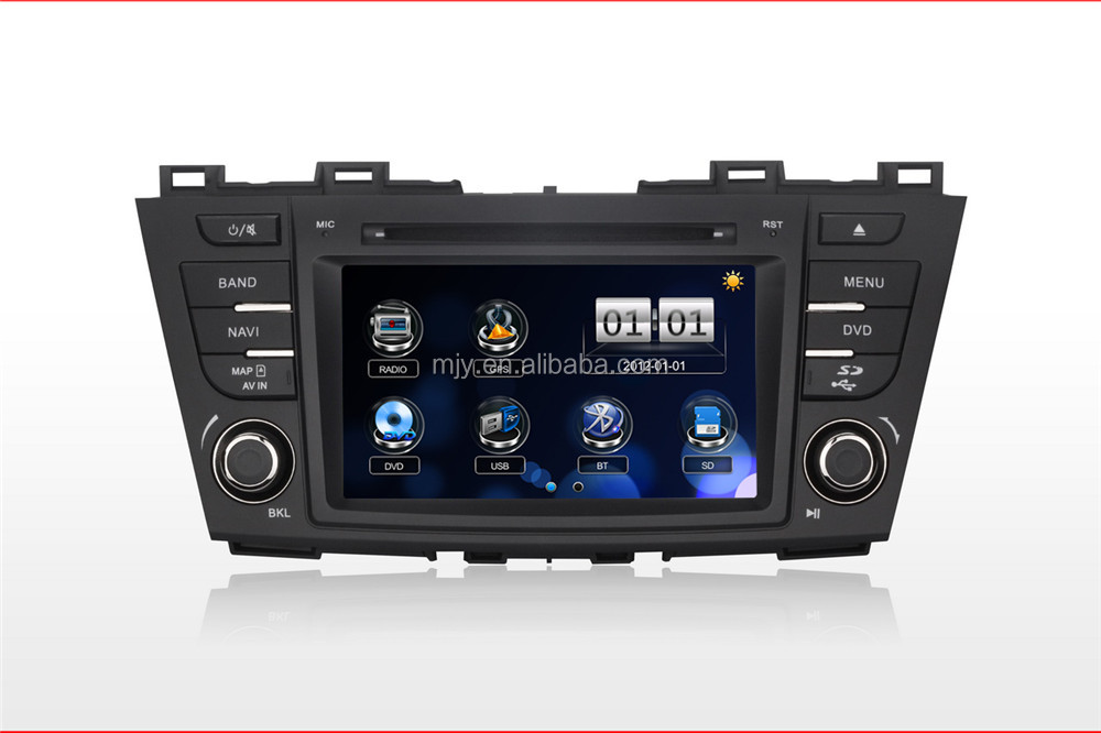 Car DVD player audio system for Mazda 5 2011 type of gps navigation