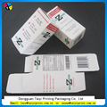 High quality cheap toothpaste packaging box