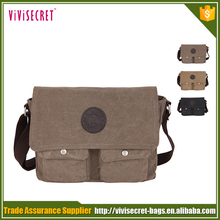 New Best Selling Unique Canvas Casual bicycle messenger bag