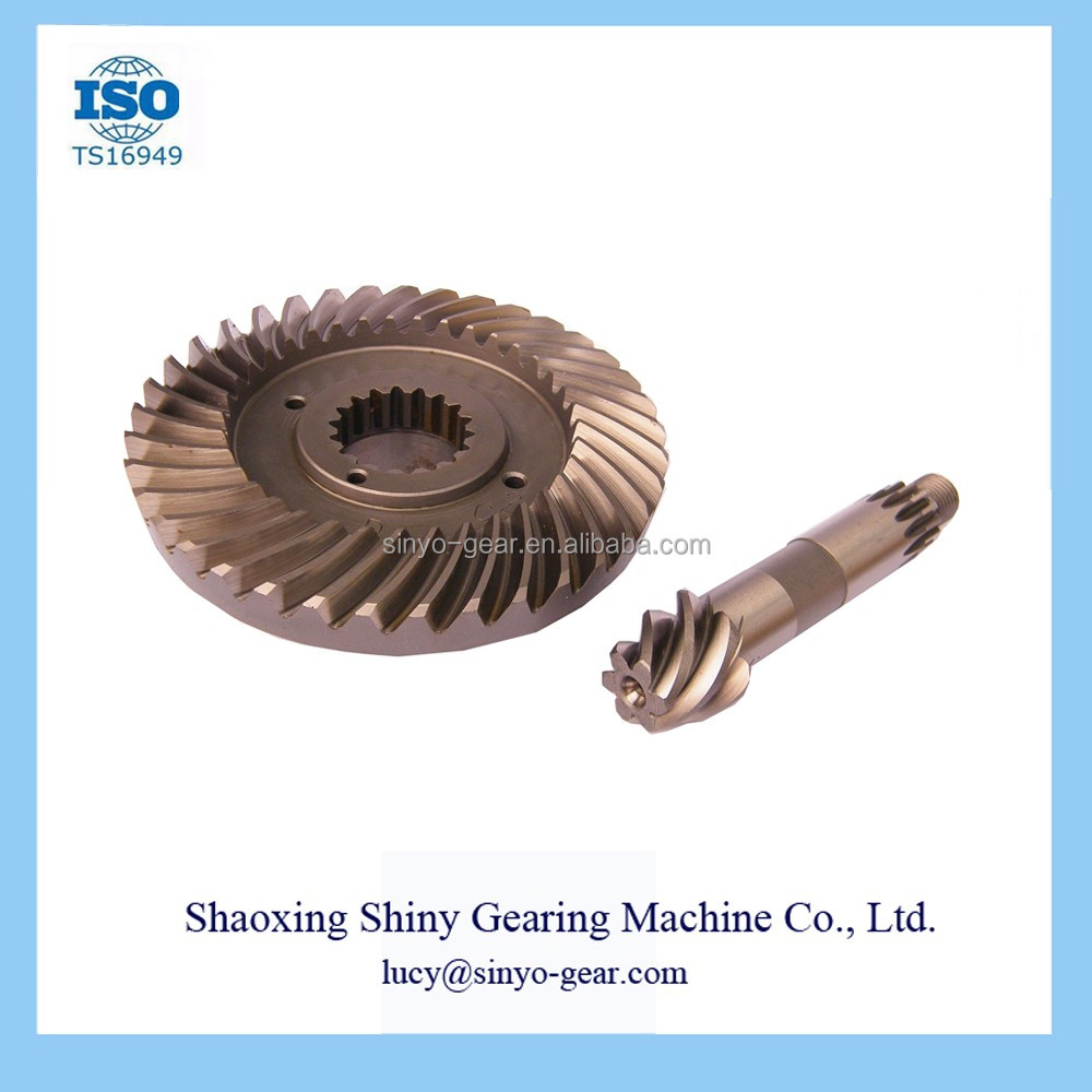 Factory Forklift Bevel Gear Machine