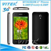 4.0 inch Android 4.4 Quad Core MTK 6582M 5MP Camera Smart Phone