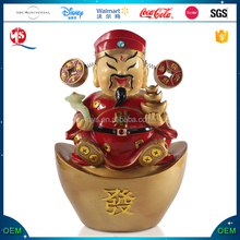 Chinese God of Wealth Figurine Custom Buddha Bobble Head