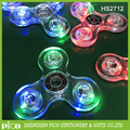 Crystal LED Hand Spinner Tri Fidget Tri-Spinner Glow In The Dark 3 Modes Light Up EDC Focus/Anxiety Toy For Kids/Adults