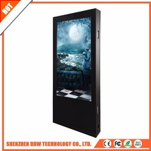 2017 China New Arrival 60 inch LED TV screen wholesale double side digital signage