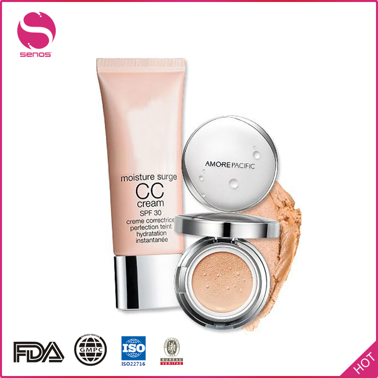Senos Skin White Makeup Base Face Cream Waterproof BB & CC Creams For Adults Female