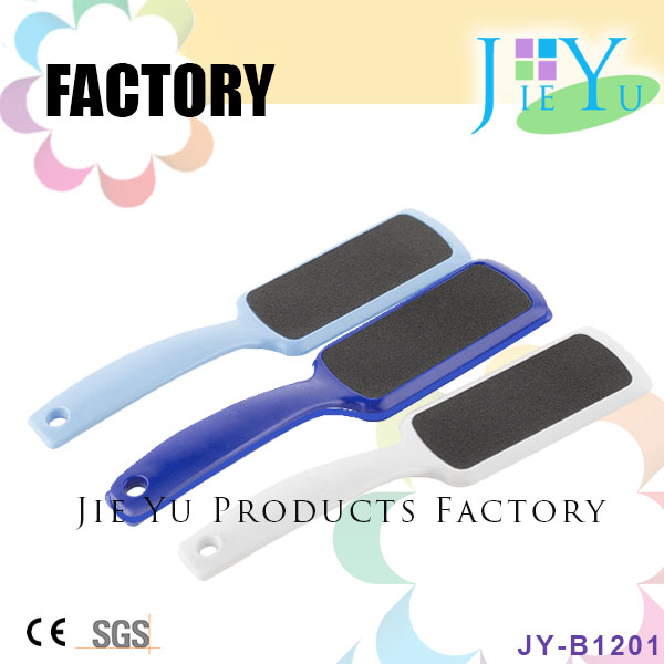 Wholesale Plastic Foot Nail File With Long Handle