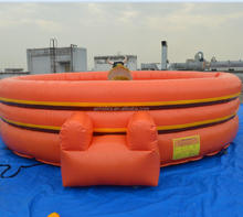 Inflatable wipeout ,eliminator / rodeo game Riding Machine/Mechanical Rodeo Bull/Inflatable meltdown A6064