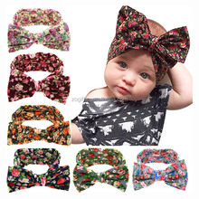 ZOGIFT Hair Accessories Factory Wholesale 100% Cotton Girls Knotted Baby <strong>Headbands</strong>