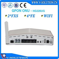V-solution 4FE 2POTS sfp onu ftth wifi gpon equipment