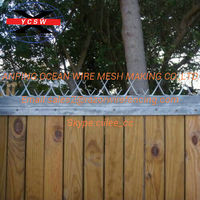 GUARD FENCING SECURITY RAZOR WALL SPIKES