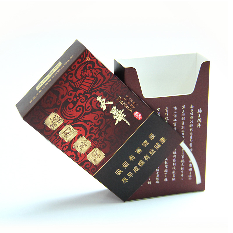 wholesale cheap price high quality paper packaging cigarette box