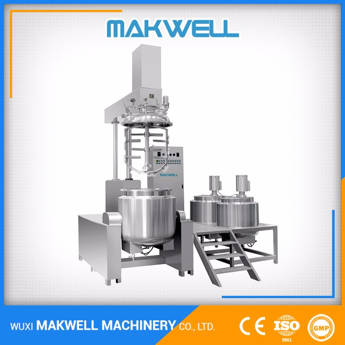 Professional Manufacturer Vacuum Emulsifying Mixer To Soap Making Machine