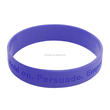 buy new fashion cheap embossed silicone wristbands online