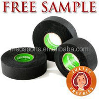 China Supplier pure rigid 25x25 cotton Printed ice Hockey stick tape