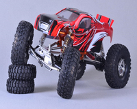 KYX Billet Machined 1/10 Trail Racer 4WD All Terrain Scale Crawler ARTR ,rc racing,rc car