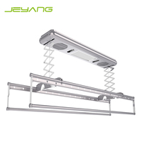 High quality automatic lifting hanger fashion clothes drying racks