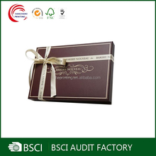 Fashion Elegant paper packaging chocolate supplier
