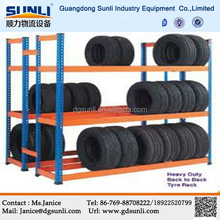 High quality Storage Metal Warehouse Tire Rack