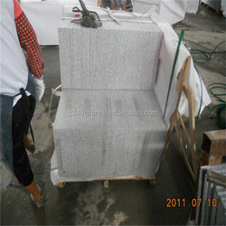 grey granite g603 flamed brushed for outdoor,grey granite slab