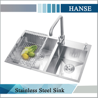 K-H7643R drop-in sink/ sink kitchen turkey/ stainless still kitchen sink