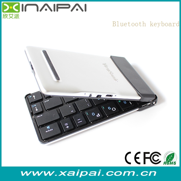 Factory supply mini foldable bluetooth keyboard / wireless keyboard for smartphone /tablet pc, laptop gaming computer keyboard