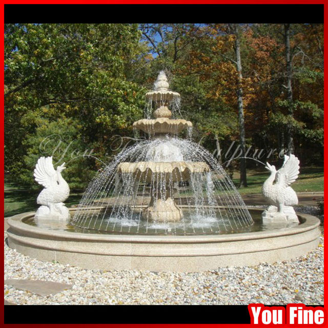Outdoor Classic Marble Water Fountain Price