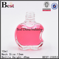 mini apple shape glass perfume bottle with sprayer wholesale free sample