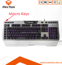 Gaming Mechanical RGB Macro Keyboard with Multimedia Keys