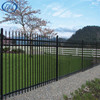 Steel Palisade Fencing/8x8 Fence Panels/Cheap Prefab Fence Panels