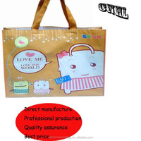 recyclable non woven promotional beach bag