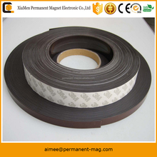 Factory directly supply rubber magnet strip adhesive magnetic tape flexible magnetic tape