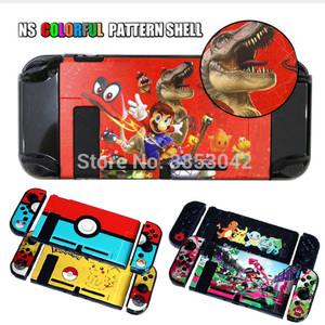 Colorful Pattern Protective Housing Shell hard Case Cover For Nintendo Switch Game Console Protector
