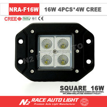 16W Square mini LED work Light /16W LED driving worklights / 12v led tractor work light