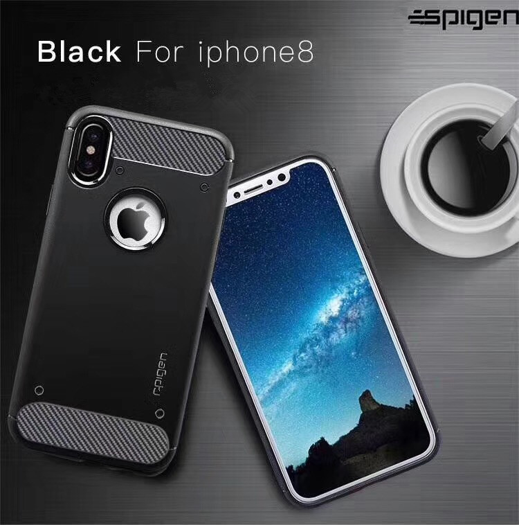 Ultra thin soft Carbon fiber SGP cell phone back case cover for apple iphone 7, shockproof silicone cases for iphone 6 6s 7 plus