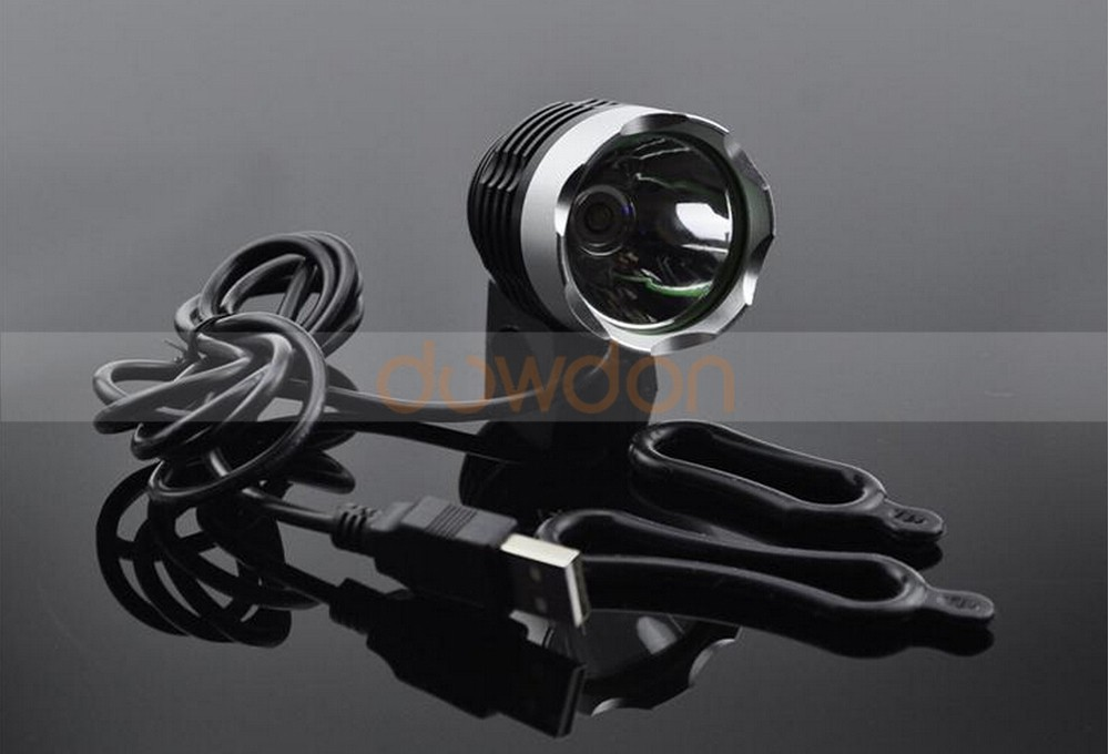 5V USB Rechargeable Bike Front Light XM-L T6 1600LM LED Bike Headlight Bicycle Light