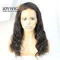 Hot sales 10A grade natural Color body wave Chinese virgin Human Hair full lace Wig