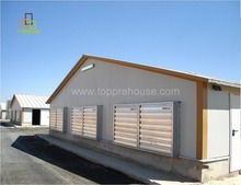 Cheap Low Cost Poultry Chicken Farm EPS Prefabricated House Wholesale