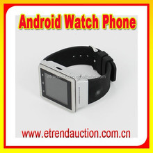 New Arrival MTK 6577 Dual Core 3G WCDMA Bluetooth GSM Android 4.0 Watch Phone Download and Install