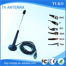 Portable active hd amplifier antenna digital tv antenna better price high quality 3.5DB tv telescopic antenna