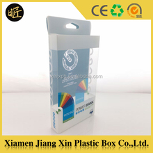 Mobile case packaging Cheap clear pvc plastic box cell phone accessories