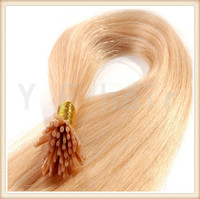 100% remy cheap wholesale Pre bonded double drawn I tip Hair Extension russian virgin hair extensions