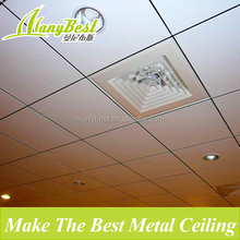 2017 Factory types of aluminum ceiling finishes