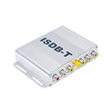 Brazil Peru Car ISDB-T 1 seg Digital TV receiver TV tuner box with 2 Vedio Output