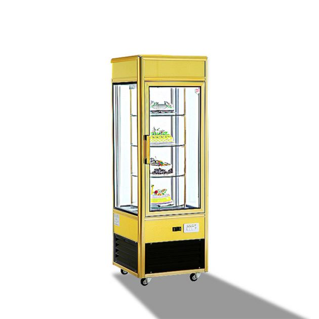Luxury Beverage Refrigerator Showcase with 4 Doors Used Glass Door Display Chiller for Sale machinary