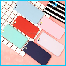 Macaroon Candy Color Soft TPU Phone Case for iphone5/ iphone 6/iphone7