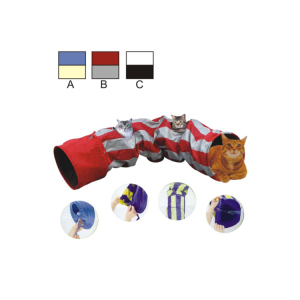 Professional manufacture cheap foldable cat tunnel,cat toy tunnel