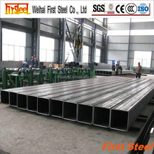 construction material weight of black square pipe per meter