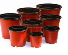 Cheapest disposable double color flower pot for greenhouse and garden