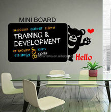 Erasable removable PVC chalkboard wall decal stickers useful for home and office
